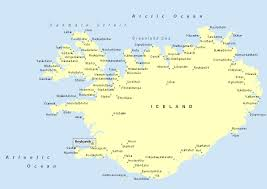 iceland map iceland political map romania maps and views