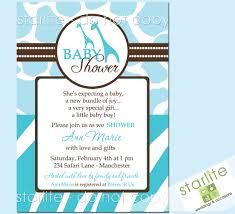 blue safari baby shower invitations themesflip com
