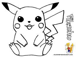 coloring pages coloring pages print pikachu printable colorine