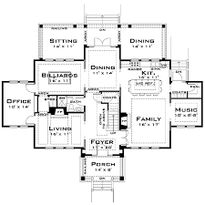 large home floor plans plan 44040td for the large family georgian house georgian and