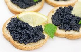 caviar recettes cuisine recette canapés de caviar
