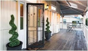 Exterior Doors Brisbane Brisbane Based Security Screen Door Company Heritage Doors Feature