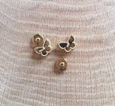 sweet earrings cleef arpels gold white pearl of sweet alhambra