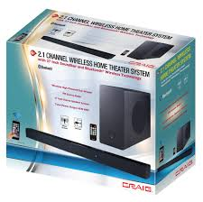 home theater systems with bluetooth wireless powered subwoofer wireless optical input sound bar
