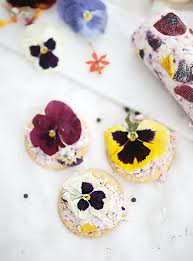 floral goat cheese with dill u0026 cracked pepper the merrythought