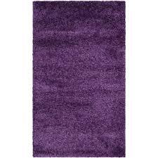 Purple Shag Area Rugs Safavieh Milan Shag Purple 4 Ft X 6 Ft Area Rug Sg180 7373 4