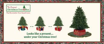 the tree box l the decorative christmas tree stand cover
