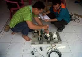 kursus desain panel wiring control diagram estimasi project