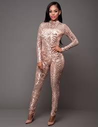 sequined jumpsuit 2018 s sequins playsuits mesh sleeve turtleneck
