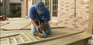 How To Build A Banister For Stairs How To Build Wood Deck Handrails Today U0027s Homeowner
