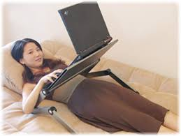 Laptop Sofa Desk Easy Desk Makes Computing Easier Tfot