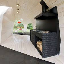 outdoor barbeque designs backyard brick barbeques dig this design
