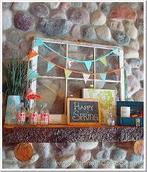 Easter Mantel Decorating Ideas by 25 Diy Spring U0026 Easter Mantels