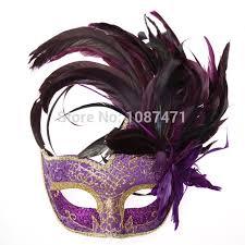 masks masquerade 2018 new party masks masquerade masks color feather