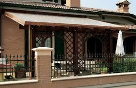 coperture tettoie in pvc tettoia in legno a verona