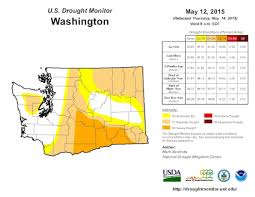 United States Drought Map by Washington U0027s U0027wet Drought U0027 Gets Worse Climate Central