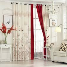 Custom Linen Curtains Byetee Pastoral Linen Curtains For Living Room Bedroom Curtains