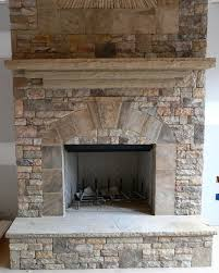 Outdoor Fireplace Surround by Slate Fireplace Surround On The Level Home Remodeling Llc