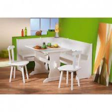 Corner Table Bench EBay - White kitchen table with bench