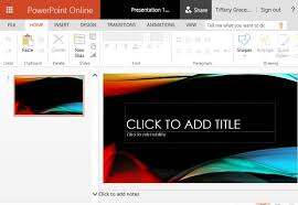 vapor trail abstract powerpoint template