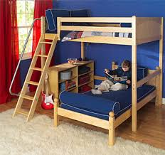 Bunk Bed Safety Rails Put Safety First With The Maxtrix Children U0027s Furniture System