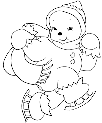 100 ideas cute snowman coloring pages on emergingartspdx com