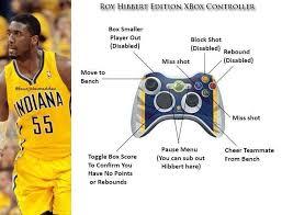 Roy Hibbert Memes - roy hibbert special edition xbox controller special edition xbox