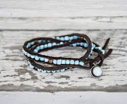 leather bracelet with beads images Jewelry making ideas 60 diy bracelets for classy ladies cute jpg