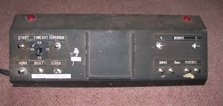 vintage basketball scoreboard working condition from