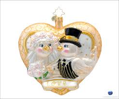 Christopher Radko Halloween Ornaments by Christopher Radko Bridal Christmas Ornaments