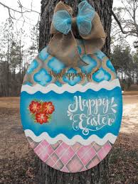 Wooden Easter Door Decorations by 439 Best Images About Painting Easter On Pinterest