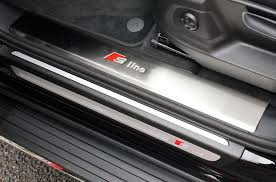 Audi Q5 65 Plate - audi q5 2009 2016 s line door sill covers direct 4x4