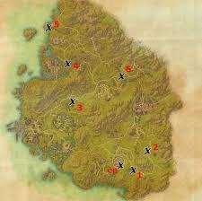 bal foyen treasure map greenshade treasure map locations elder scrolls guides