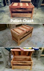 Pallet Furniture Side Table Best 25 Pallet Chest Ideas On Pinterest Wooden Trunk Diy Wood