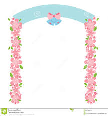 wedding arch no flowers flowers arch stock vector image 39794605