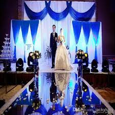 wedding centerpieces decor mirror carpet aisle runner for wedding