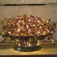 primitive kitchen lighting images of primitive kitchen lighting antique colander with