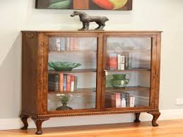 Library Bookcase With Glass Doors by Antique Library Cabinet With Glass Doors U2022 Cabinet Doors