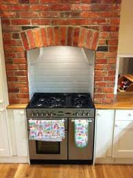 brick kitchen ideas rustic brick kitchen range cooker brick fireplace and bricks