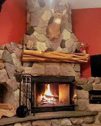 Rustic Mantel Decor Fireplace Mantels Michigan Reclaimed Wood Fireplace Mantel Log