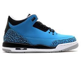 powder blue air jordan 3 retro bg gs powder blue air jordan 398614 406