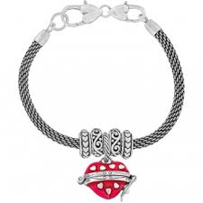bracelet with hearts images Silver heart charm bracelet brighton collectibles jpg