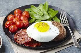 cuisine oeuf steak haché de boeuf oeuf à cheval recettes de cuisine la