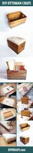 Diy Storage Coffee Table by Upcycling Vintage Wooden Crate Diy Storage Ottoman Vintage
