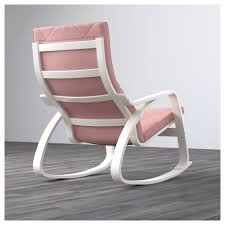 White Bedroom Rocking Chair Transitional Living Room Accent Rocking Chair Wood In White Ebay