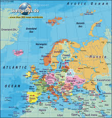 Amsterdam Map Europe by Map Of Europe Map Of The World Political New Zone