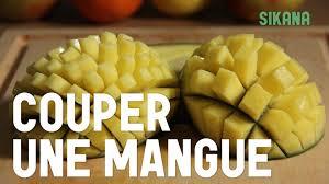cuisiner la mangue couper une mangue cuisiner des légumes
