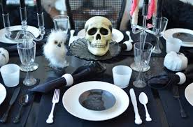 Dinner Party Agenda - a halloween dinner party
