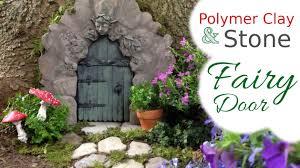 stone wood u0026 polymer clay fairy door tutorial for the fairy