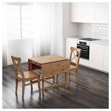 INGATORP Dropleaf Table Antique Stain X Cm IKEA - Drop leaf kitchen table ikea